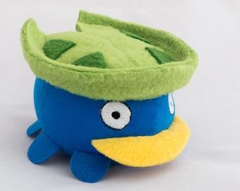 Made to order - Pokemon Lotad plush