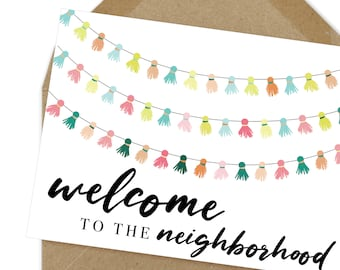 picture regarding Welcome to the Neighborhood Printable identified as Area welcome Etsy