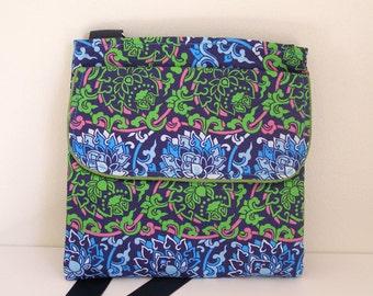 Floral Bag with adjustable strap