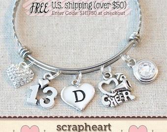 13th Birthday Girl 13th Birthday Charm Bracelet Teenage Etsy