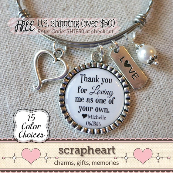 Personalized Stepmom Birthday Gift Stepmother Of The BRIDE