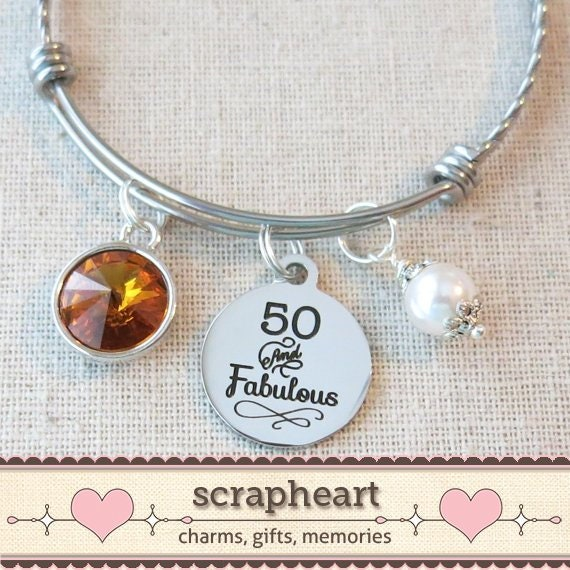 70th BIRTHDAY Gift For Her Milestone October Birthday Gifts Friend 70 And Sensational Bangle Bracelet Mom Sister