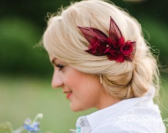 97140b40da76f Haarblume Lotusblüte Braut Chiffon Blume AB 310