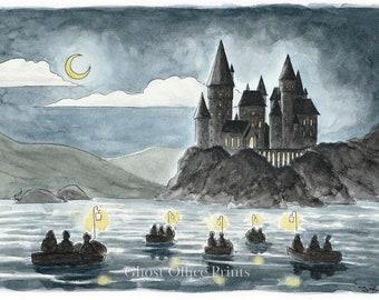 Hogwarts Art Etsy