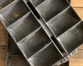 Cast Iron Waterman NES Style 11 or Wood Bishop Co French Roll Pans