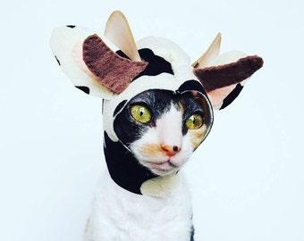 Cow Cat Hat