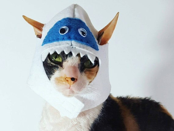 9112a7f113dfa Abominable Snowman hat for cat dog pet winter costume