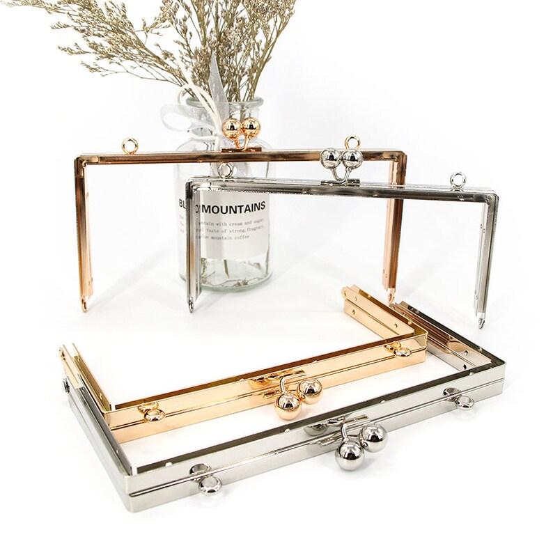 Purse Clasp Clutch Frame HW Metal Purse Frame Purse Making Supplies Wholesale Purse Frame