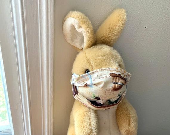 Face Mask Washable Reusable- Handmade / Cotton / Cotton + Interfacing