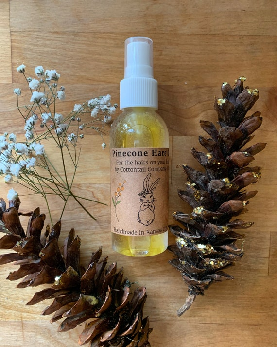 Hare Oil - Pinecone - hair oil for softness, detangler, flyaway and split end control