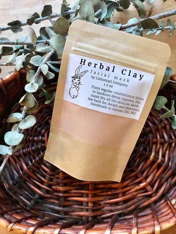 Herbal Clay Facial Mask