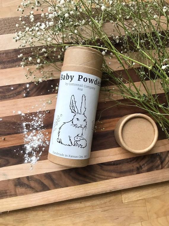 Baby Powder / Natural Talc-Free, Preservative Free, Gluten Free / Sensitive Skin friendly