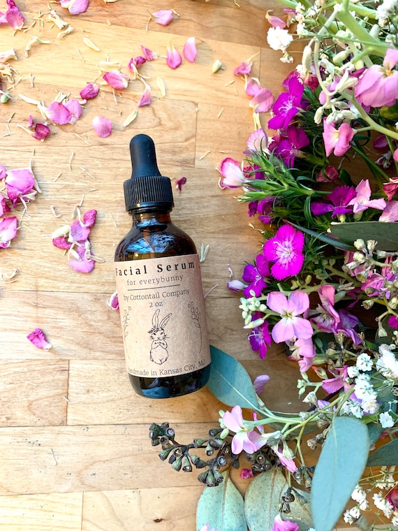 Facial Oil for Everybunny / Pumpkin Serum  / Face Oil / Moisturizer / All skin types