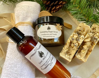 Spa Gift Set ~Soap Gift Set ~Natural Soap ~Skincare Gift Set