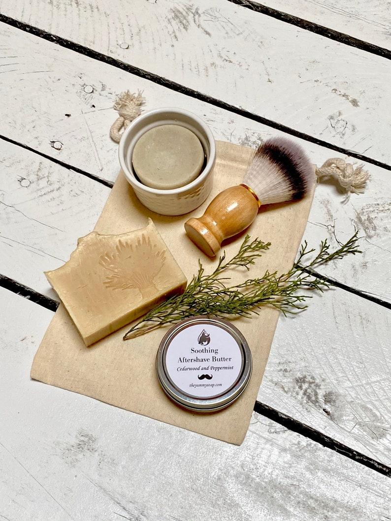 Shaving Soap Gift Set Men's Gift Set image 1