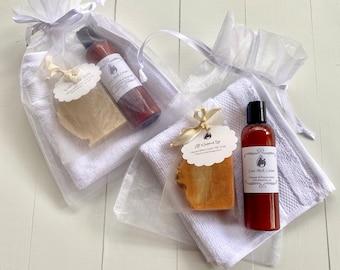 Goat Milk Soap and Goat Milk Lotion Gift Set