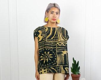 Summer Silk Blouse