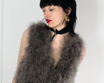 Ostrich Feather Robe