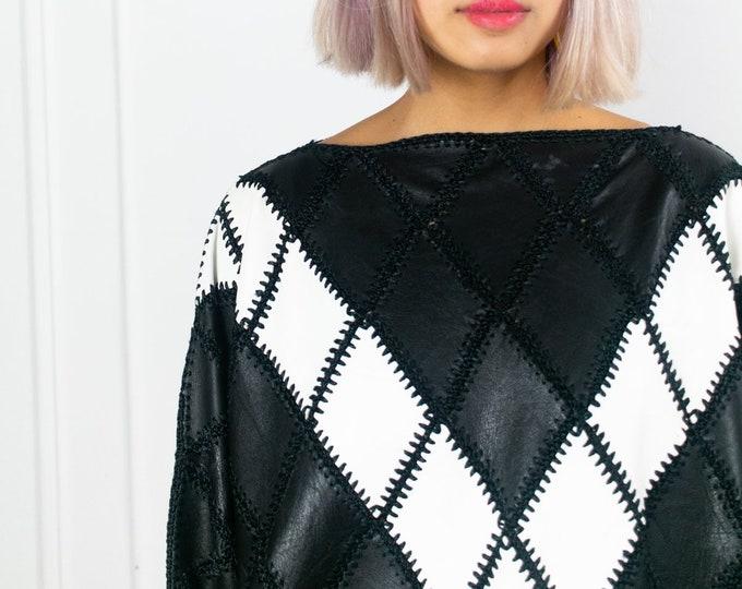 Roxy Leather Sweater