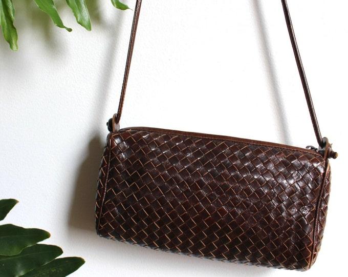 Suarez Woven Leather Bag