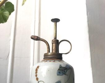 Vintage Porcelain Water Atomizer / Mister