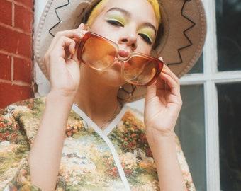 Nina Ricci Parisian Sunglasses w/ Chain