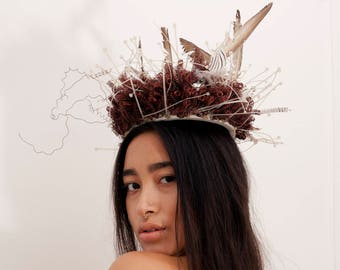 Sacred Feather Crown