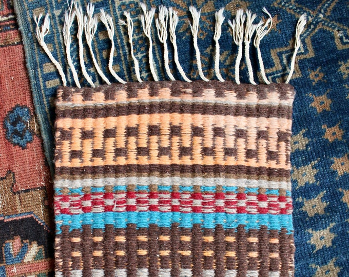 Handwoven Southwest Table Rug
