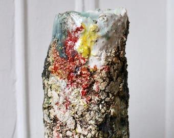 NPILAR Footed Ceramic Vase