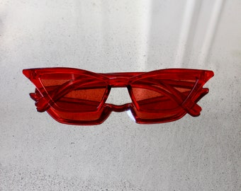 Red Acrylic FAST Shades