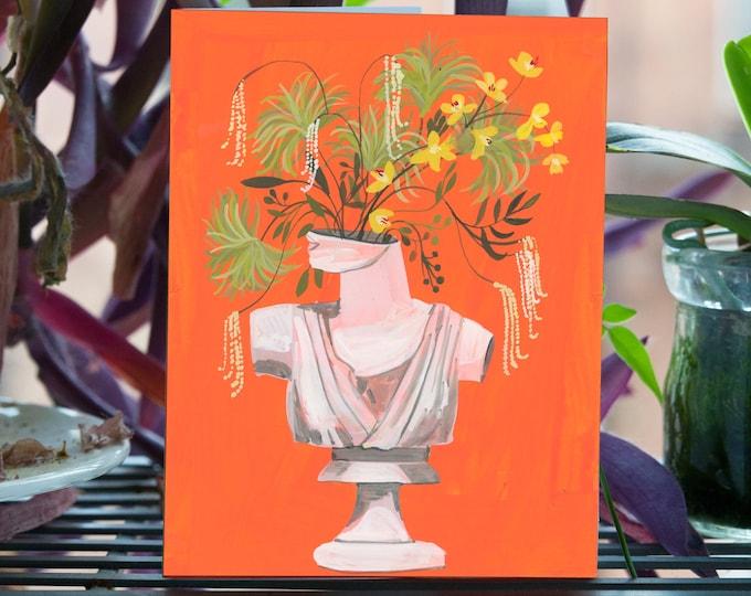 Flora Jean Greeting Card