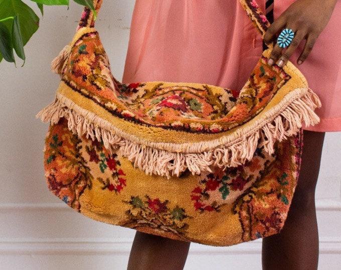 Pastel Rodeo Carpet Bag