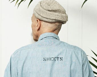 SHEETS Button Front