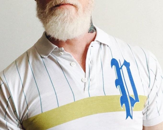Prince Striped Collared Shirt x Vintage Tennis Tee