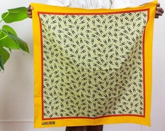 80s Gone Bush Silk Scarf