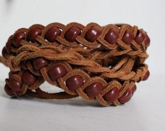 Braided Leather Jungle Belt