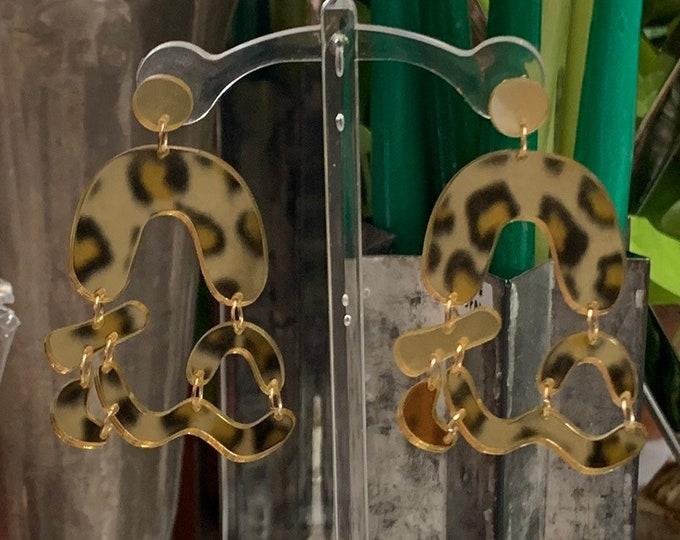 Mirror Earring Set
