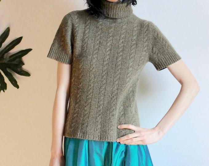 Turtle Neck Cashmere Tshirt