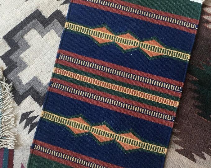 Handwoven Earthy Table Rug
