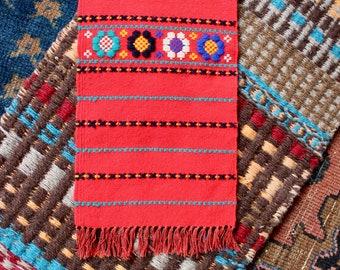 Antique Mini Woven Table Rug
