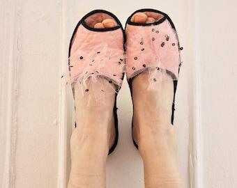 50s Jazz Boudoir slippers