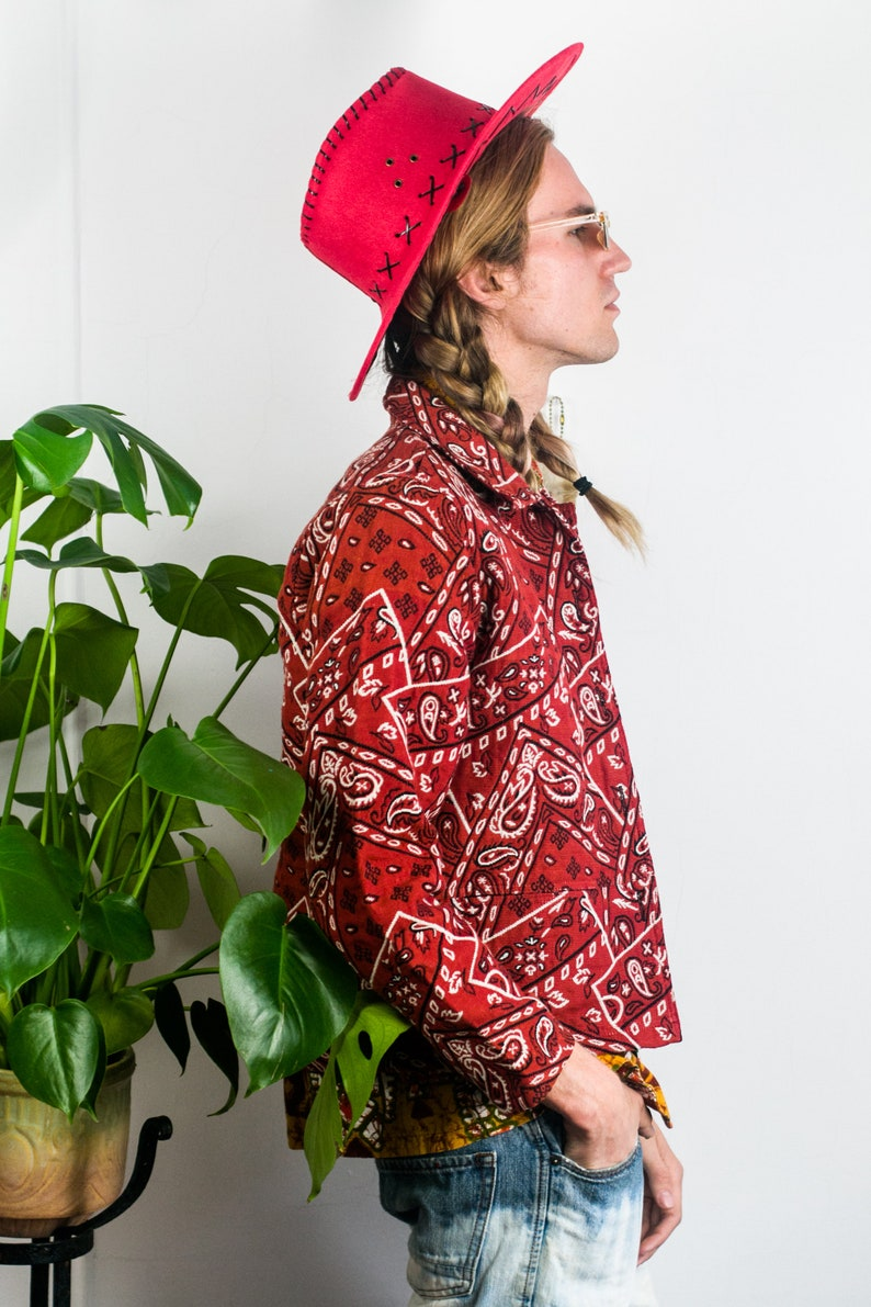 Red Tapestry Jacket