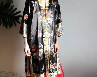 Hand Embroidered Oriental Robe