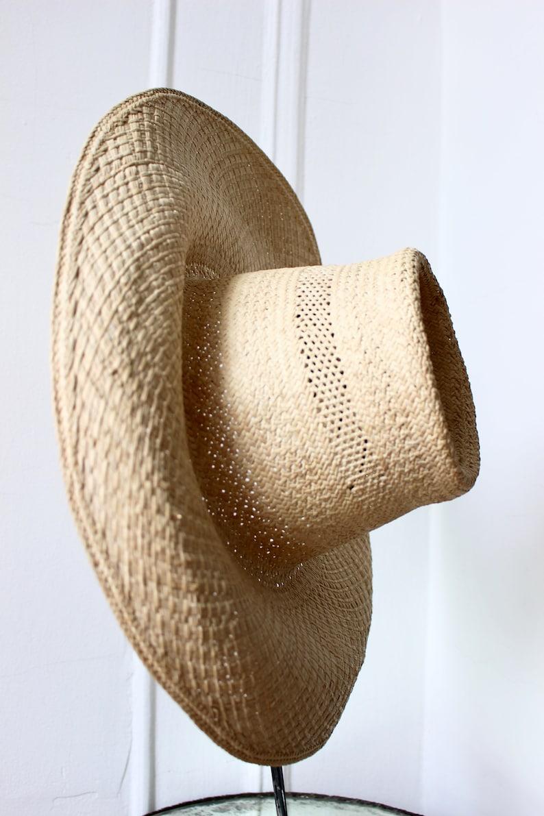 40s Woven Sun Hat