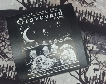 Graveyard Four Candle Collection Pack
