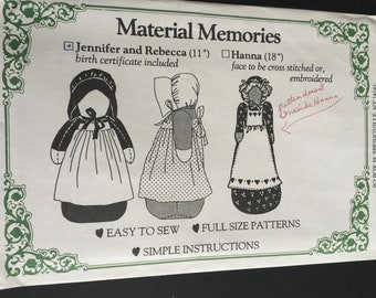 d5cf596f2ee7 New Material Memories sewing pattern Jennifer and Rebecca 11