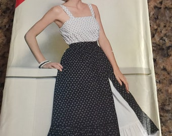 66a508cbae9 NEW 12-16 See   Sew 5160 New factory folded sewing pattern from Butterick  Top and skirt Camisole Petticoat