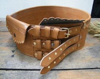 Men belt , Etno men belt ,Folk men belt , Leather Men Belt , Traditional Men belt