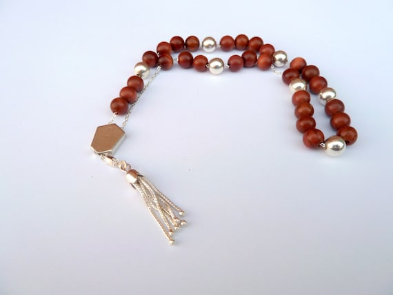 Bead Fidget Toyhandmade Greek Worry Beads Silver Worry