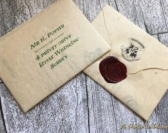 Hogwarts Acceptance Letter (customizable)